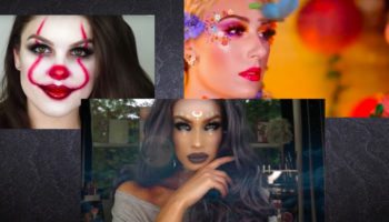 Halloween Makeup tutorials feature