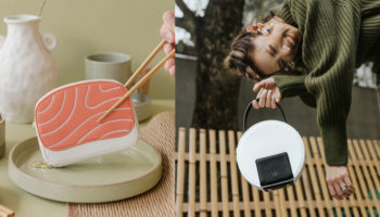 kai pouches bags sushi collection by christabel chua