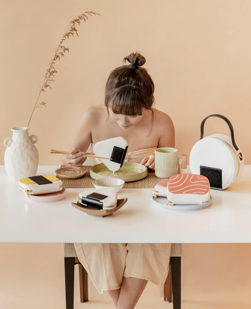 kai pouches bags sushi collection set by christabel chua