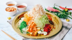 CNY snacks calories lou hei sassy mama singapore